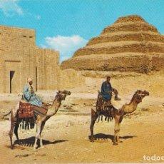 Postales: EGIPTO, SAKKARA, PIRÁMIDE A ESCALONES DEL REY ZOSER - EDITA CYZ 24005_2 - S/C. Lote 180174232