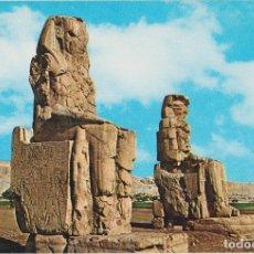 Postales: EGIPTO, TEBAS, LOS COLOSOS DE MEMNÓN - EDITA CYZ 24005_6 - S/C. Lote 180174338