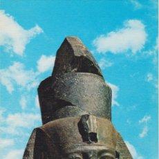 Postales: EGIPTO, TEBAS, CABEZA DE RAMSÉS II EN EL RAMESSEUM - EDITA CYZ 24005_8 - S/C. Lote 180174431