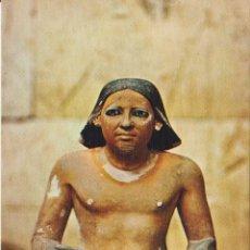 Postales: EGIPTO, MUSEO DE CAIRO, ESTATUA DE UN ESCRIBANO - EDITA CYZ 24004_2 - S/C. Lote 180174570