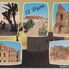 Postais: TUNEZ, MAHDIA, VISTA DE EL DJEM - EDICHEM HO 85 - S/C. Lote 180467758
