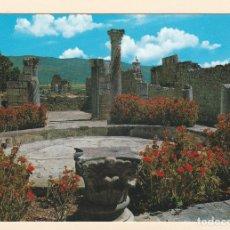 Postales: POSTAL LA CASA DE LAS COLUMNAS. VOLUBILIS (MARRUECOS). Lote 180979698
