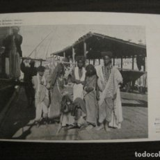 Postales: EGIPTO-GRUPO DE BICHARINS-ASSUAN-REVERSO SIN DIVIDIR-LUIS TASSO-POSTAL ANTIGUA-VER FOTOS-(63.708). Lote 182220733
