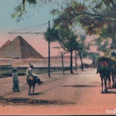 Postales: POSTAL EGYPTO - ROAD OF THE PYRAMIDS - LL - ROUTE DES PYRAMIDES. Lote 182966132