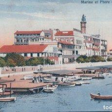 Postales: POSTAL EGIPTO - PUERTO SAID - MARINE ET PHARE DE PORT SAID . Lote 182994213