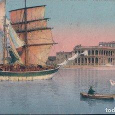 Postales: POSTAL EGIPTO - PUERTO SAID - PORT SAID - NAVY HOUSE - LL - CIRCULADA. Lote 182994902