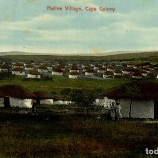 Postales: NATIVE VILLAGE CAPE COLONY FROM EAST LONDON SOUTH AFRICA. Lote 183048251