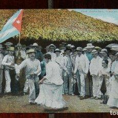 Postales: POSTAL DE CUBA. THE ZAPATEO. TIPICAL CUBAN DANCE. NO CIRCULADA.. Lote 183261086