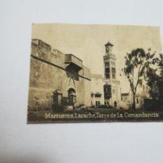 Postales: POSTAL ORIGINAL. 6.5 X 4.6CM. DÉCADA 30. Nº 1468. LARACHE. TORRE DE LA COMANDANCIA. Lote 184035383