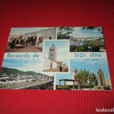 Postales: RECUERDO DE SIDI IFNI - SIN USAR - FOTO MARTINEZ. Lote 189417937