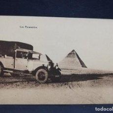 Postales: TARJETA POSTAL DE EGIPTO. LES PYRAMIDES.. Lote 190122987