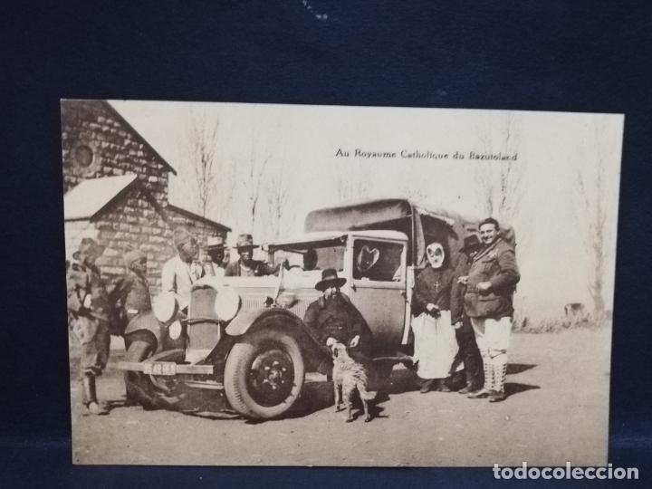 TARJETA POSTAL DE AU ROYAUME CATHOLIQUE DU BAZUTOLAND. (Postales - Postales Extranjero - África)