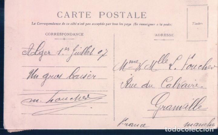 Postales: POSTAL ARGELIA - ALGER - J GEISER - 20 - Foto 2 - 190202195
