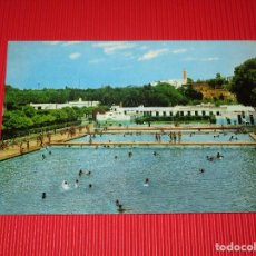 Postales: MEKINES - PISCINA - 503 - ESCRITA Y CIRCULADA - EDICIONES LIBRERIA ESCOLAR. Lote 190239438
