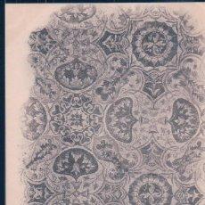 Postales: POSTAL ARGELIA - RUINES ROMAINES DE TIMGAD - LE MUSEE MOSAIQUE DU TABLIUM DE LA MAISON DE SERTIUS . Lote 190705917