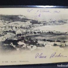 Postales: TARJETA POSTAL DE ALGER. MUSTAPHA.. Lote 190710445