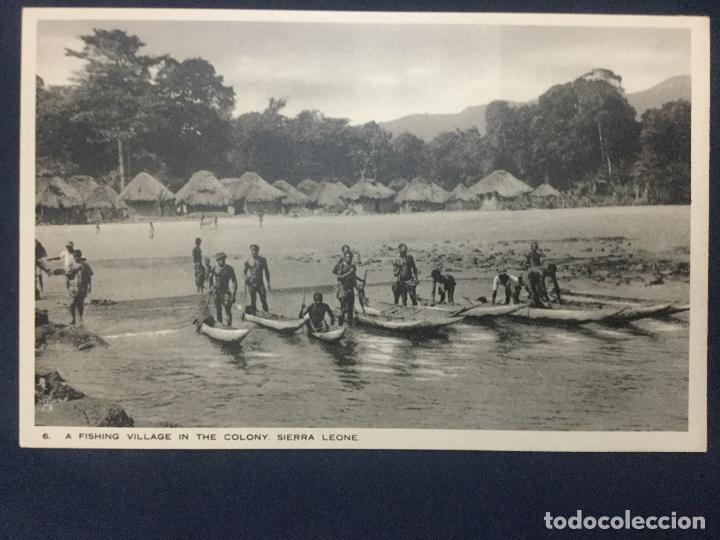 Postales: 12 POSTALES SIERRA LEONE COLONY - 1924 - SERIE 5 y 6 - THE BRITISH EMPIRE EXHIBITION - TUCK'S - SC - Foto 5 - 190813690