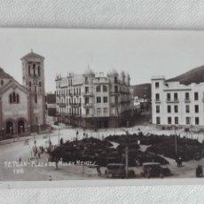 Postales: 900 POSTAL NUEVA - 106 - TETUAN / PLAZA MULEY MEHOY - IGLESIA. Lote 190987892