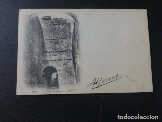 ORAN ARGEL PUERTA DE ESPAÑA (Postales - Postales Extranjero - África)