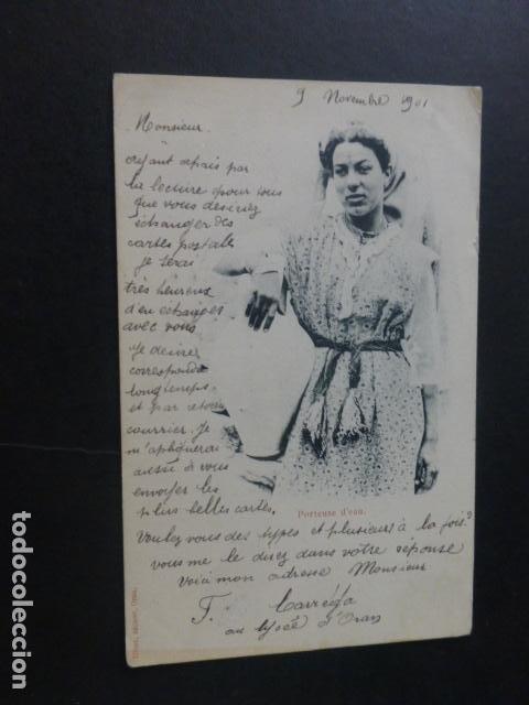 ORAN ARGEL PORTADORA DE AGUA (Postales - Postales Extranjero - África)