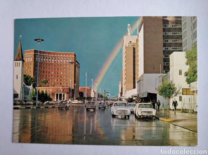 POSTAL AFRICA RODESIA AFTER THE STORM JAMESON AVENUE SALISBURY RHODESIA (Postales - Postales Extranjero - África)