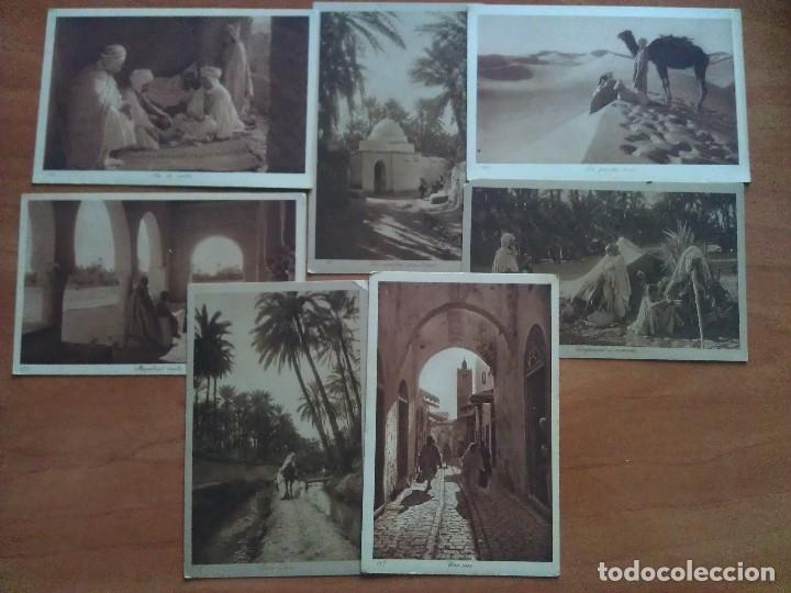 SIETE POSTALES CON CONTENIDOS ÁRABES (Postales - Postales Extranjero - África)