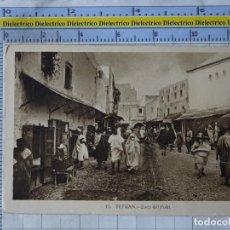 Postales: POSTAL DE MARRUECOS. AÑO 1933. PROTECTORADO ESPAÑOL. TETUAN. ZOCO DEL FOKI. 15 ROISIN. 1366. Lote 191935815
