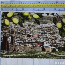 Postales: POSTAL DE MARRUECOS. AÑOS 30 50. FES PANORÁMICA DE LA MEDINA. 1368. Lote 191935893