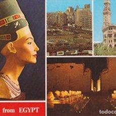 Postales: EGIPTO,CAIRO, ALEJANDRIA, AVENIDA ESFINGE - S/C. Lote 191979805