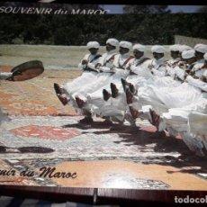 Postales: Nº 35102 POSTAL MARRUECOS FESTIVAL DES ARTS POPULAIRES DANSE DES AIT BODAR. Lote 192023047