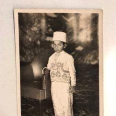 Postais: MARRUECOS. POSTAL FOTOGRAFÍCA NO.15, SU ALTEZA MOULAY - HASSAN. PRINCIPE ALAUITA (H.1940?). Lote 193341913