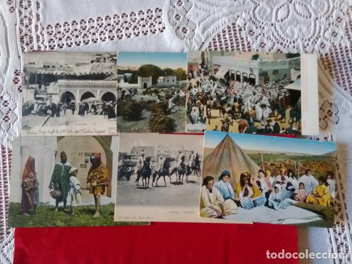 Postales: W.- 26.- LOTE DE -- 14 -- POSTALES DE -- TANGER -- DIFERENTES LUGARES DE LA POBLACION , VER FOTOS - Foto 2 - 194218421