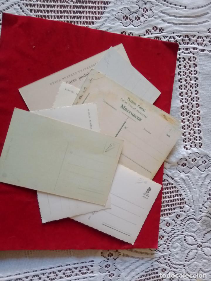Postales: W.- 26.- LOTE DE -- 14 -- POSTALES DE -- TANGER -- DIFERENTES LUGARES DE LA POBLACION , VER FOTOS - Foto 4 - 194218421
