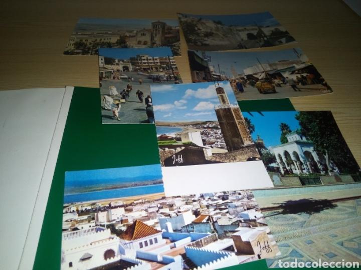 LOTE DE 7 POSTALES ANTIGUAS DE MARRUECOS. TÁNGER, TETUÁN Y MEDINA. AÑOS 50 A 60 (Postales - Postales Extranjero - África)