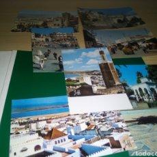 Postales: LOTE DE 7 POSTALES ANTIGUAS DE MARRUECOS. TÁNGER, TETUÁN Y MEDINA. AÑOS 50 A 60. Lote 194224560