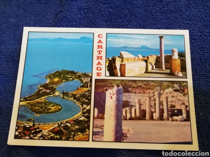 POSTAL TUNEZ CARTHAGE (Postales - Postales Extranjero - África)
