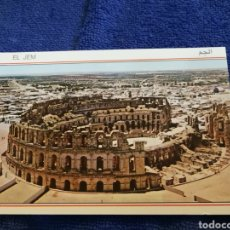 Postales: POSTAL TUNEZ EL JEM. Lote 194299285