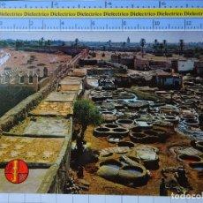 Postales: POSTAL DE MARRUECOS. MARRAKECH LES TANNEURS. LOS TINTOREROS. 2818. Lote 194538362