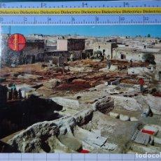 Postales: POSTAL DE MARRUECOS. MARRAKECH LES TANNEURS. LOS TINTOREROS. 2819. Lote 194538385