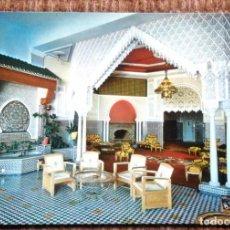 Postales: TANGER - MARRUECOS - HOTEL RIF - SALON ARABE. Lote 194576375