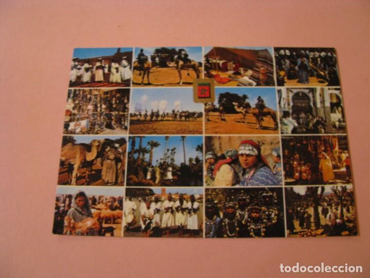 POSTAL DE MARRUECOS. MARRUECOS TÍPICO. ED. KOMAROC SA, ESCUDO DE ORO. (Postales - Postales Extranjero - África)