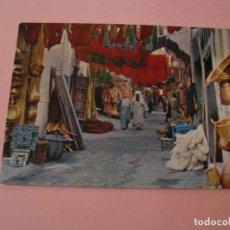 Postales: POSTAL DE MARRUECOS. MARRAKECH. LIBRERÍA ESCOLAR.. Lote 194619723