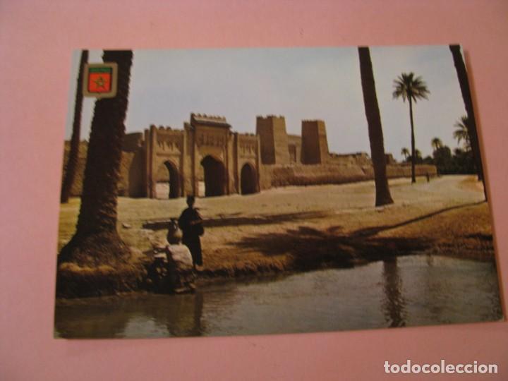 POSTAL DE MARRUECOS. IMÁGENES ESCUDO DE ORO. PRIMERA COLECCIÓN DE ÁFRICA EXOTICA. (Postales - Postales Extranjero - África)