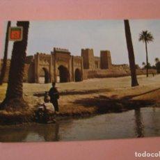 Postales: POSTAL DE MARRUECOS. IMÁGENES ESCUDO DE ORO. PRIMERA COLECCIÓN DE ÁFRICA EXOTICA.. Lote 194619941
