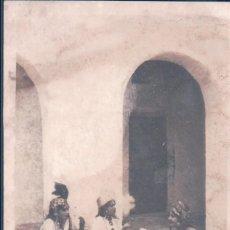 Postales: POSTAL LES ARTS COLONIAUX PARIS 1931 - ALGERIE - CAFE MAURE. Lote 194751260