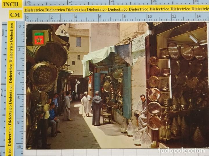 POSTAL DE MARRUECOS. ARTESANÍA TÍPICA MERCADOS MARROQUIES. 68 (Postales - Postales Extranjero - África)