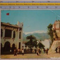 Postales: POSTAL DE MARRUECOS. TETUAN ESCUELA Y PUERTA REINA. 97 PHOTOLZDAT BULGARIA. 70. Lote 194889191