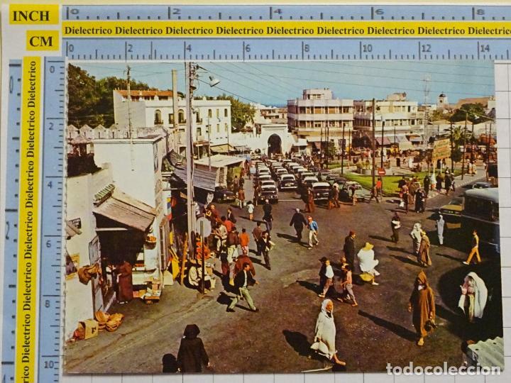 POSTAL DE MARRUECOS. AÑO 1974. TANGER EL ZOCO GRANDE. 71 (Postales - Postales Extranjero - África)