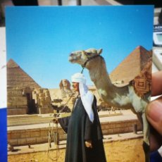 Postales: POSTAL THE SPHINX AND THE PYRAMID OF CHEOPS. Lote 194956450