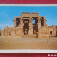 Postales: ANTIGUA POSTAL POST CARD EGYPT EGIPTO KOM OMBO TEMPLE TEMPLO ESCRITA Y CIRCULADA CON SELLO POST CARD. Lote 195014036